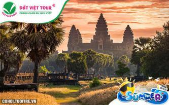 Tour du lịch 30/4 Siem Reap, Phnom Penh 4N3Đ