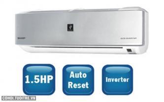 Nhiều ưu đãi với máy lạnh SHARP AH-XP13NWS 1.5HP Inverter