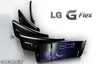 LG G Flex - siêu phẩm màn hình cong táo bạo