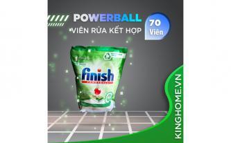Viên rửa bát Finish Power Ball Eco 0% 70 viên