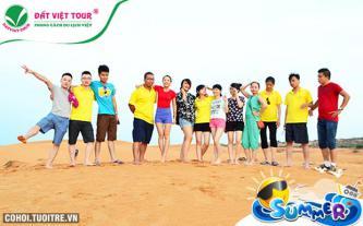 Tour du lịch 30/4 Hàm Thuận Nam, Mũi Né