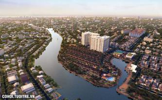 Dự án Condo cao cấp tại khu Đông TP.HCM với ba mặt hướng sông