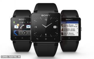 Đồng hồ thông minh Sony Smartwatch 2 (dây cao su)