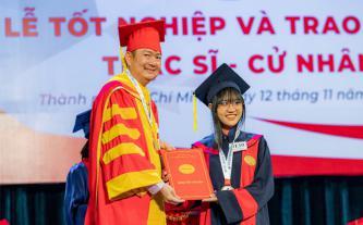 HUFLIT tổ chức lễ tốt nghiệp thạc sĩ - cử nhân năm 2020
