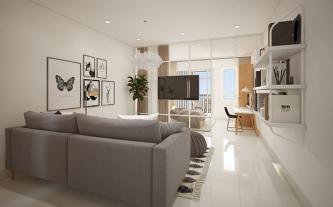 Topaz Twins - ưu đãi tới 15% khi mua căn hộ studio ngày 24, 25-3