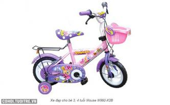 Xe đạp trẻ em Nhựa Chợ Lớn M992-X2B - số 54 Con Chuột
