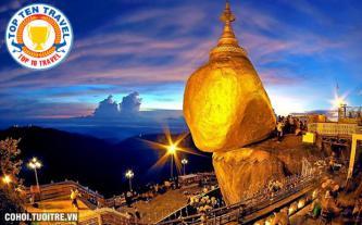 Tour Myanmar trả góp lãi suất 0%, chỉ trả trước 4.500.000đ