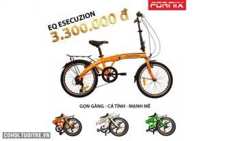 Xe đạp gấp Fornix gọn gàng và cá tính