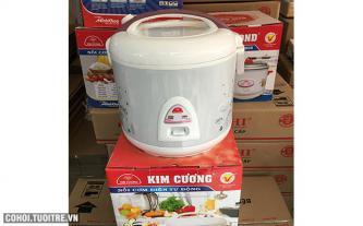 Nồi cơm điện Kim Cương 2.2L nắp gài giá rẻ