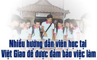 Nhiều hướng dẫn viên học tại Việt Giao để được đảm bảo việc làm
