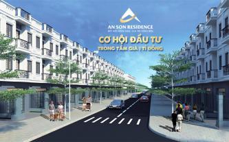 An Sơn Residence - Cơ hội đầu tư trong tầm giá 1 tỉ đồng
