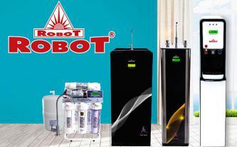 Ra mắt máy lọc nước ROBOT mới có bộ vi mạch và LCD