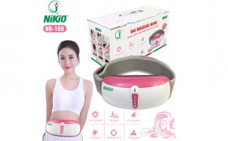 Máy massage bụng rung lắc xoay day ấn, thế hệ mới Nikio NK-169