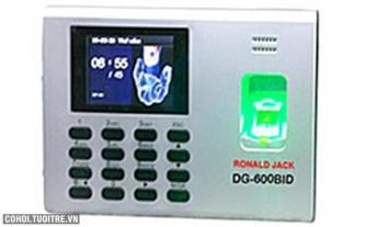 Máy chấm công vân tay và thẻ cảm ứng Ronald Jack DG600BID