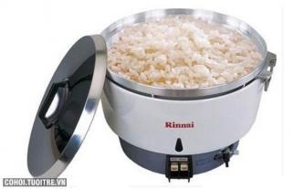 Nồi cơm dùng gas Rinnai R-10
