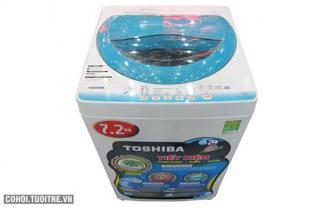 Máy giặt Toshiba loại 7,2kg mâm giặt kháng khuẩn