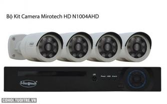 Bộ kit camera Mirotech HD N1004