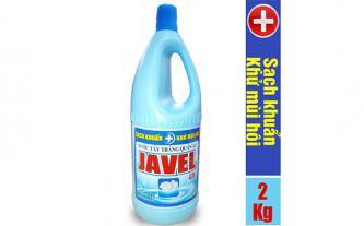 Nước tẩy trắng quần áo Javel Lix 2Kg - Sạch khuẩn