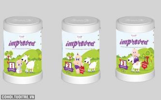 Sữa Dê Improved chữa táo bón dễ dàng cho trẻ