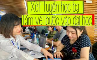 Xét tuyển học bạ - 'Tấm vé' bước vào đại học