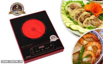 Tuần lễ vàng mua bếp hồng ngoại Sanko DUP