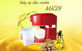Đặc điểm nổi bật của máy ép dầu thực vật Mishio MK39
