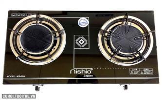 Bếp gas dương hồng ngoại Nishio NS-079