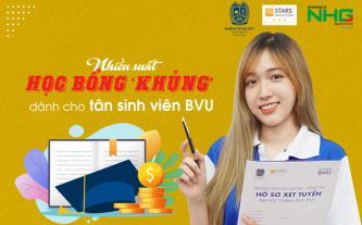 Nhiều suất học bổng 'khủng' dành cho tân sinh viên BVU