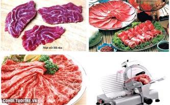 Máy cắt thịt công nghiệp