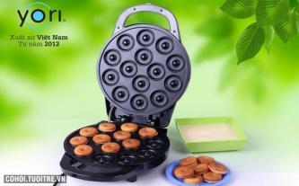 Máy làm bánh Donut Yori - Việt Nam DM-YR528D
