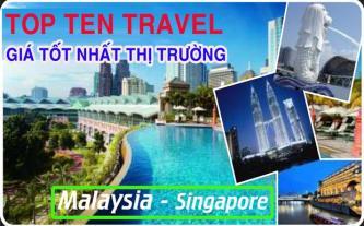 Tour du lịch Singapore - Malaysia tiết kiệm