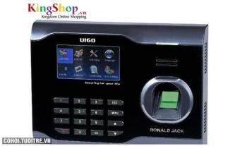 Máy chấm công vân tay và thẻ cảm ứng Ronald Jack U160