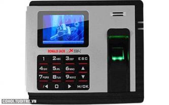 Máy chấm công vân tay và thẻ cảm ứng Ronald Jack X938-C