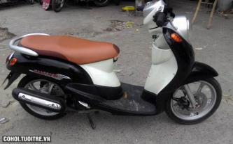 Xe Yamaha Mio Classico cổ điển màu đen