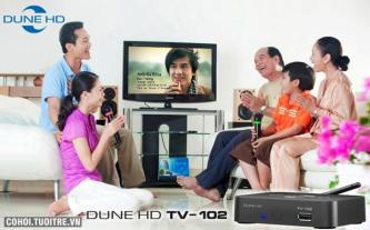 Đầu phát Dune HD 102 giải trí online Full HD 1080p