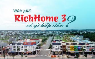 Nhà phố RichHome 3 có gì hấp dẫn