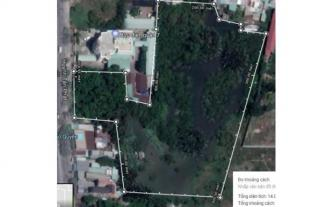 Sang 14.000 m2 đất mặt tiền Huỳnh Tấn Phát, quận 7
