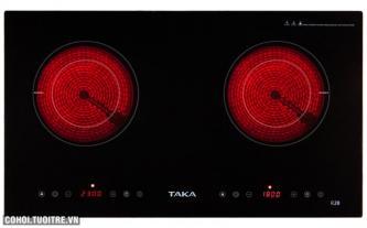 Bếp đôi hồng ngoại Taka TK-R2B
