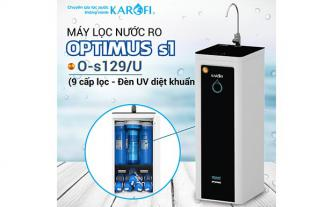 Máy lọc nước RO KAROFI OPTIMUS s1 O-s129/U (Đèn diệt khuẩn)