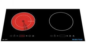Bếp điện từ và hồng ngoại đôi Bluestar NG-02IR