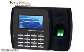 Máy chấm công vân tay và thẻ cảm ứng Wise Eye 8000T