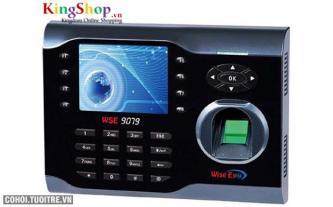 Máy chấm công vân tay và thẻ cảm ứng Wise Eye 9079