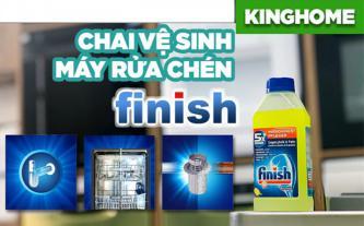 Finish, dung dịch vệ sinh máy rửa chén bát