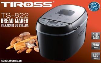 Máy nướng bánh mì Tiross TS822