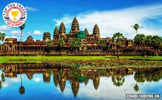 Tour du lịch Campuchia 4N3Đ Siemreap – Phnompenh