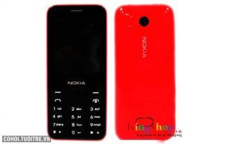 Điện thoại Gowin N208 2 sim 2 sóng, kiểu dáng Nokia 208