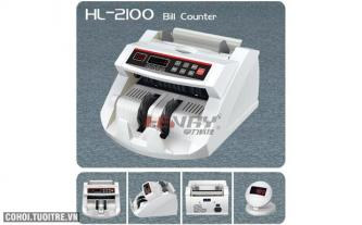 Máy đếm tiền Henry HL-2100UV
