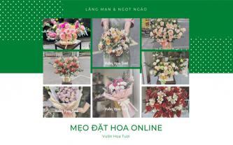 Mẹo nhỏ đặt hoa online dành cho người bận rộn