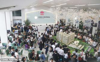 Căn hộ trung tâm TP.HCM thu hút khách hàng