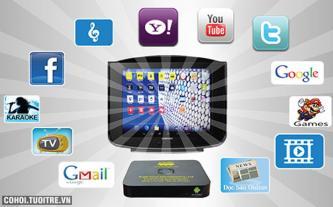 Tivi cũ biến thành internet TV giá rẻ hút khách